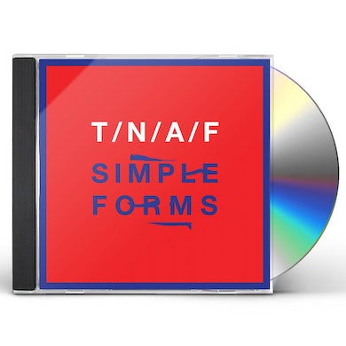 The Naked And Famous SIMPLE FORMS CD