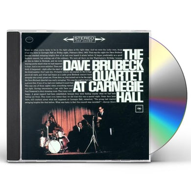 Dave Quartet Brubeck AT CARNEGIE HALL CD