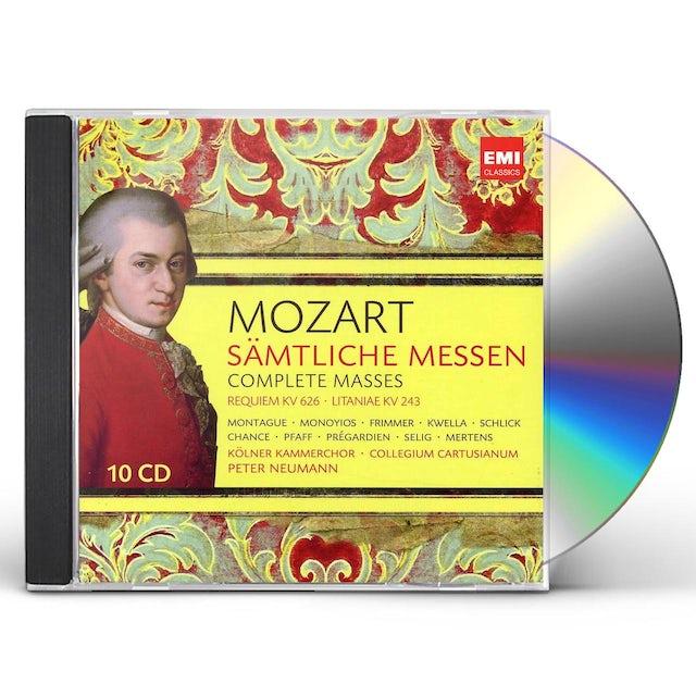 W.A. Mozart COMPLETE MASSES CD