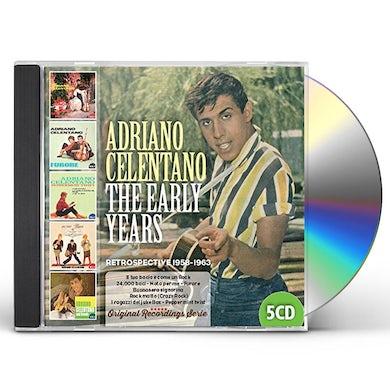 Adriano Celentano EARLY YEARS 1958-1963 CD