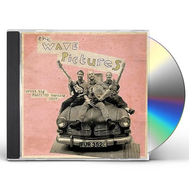 The Wave Pictures GREAT BIG FLAMINGO BURNING MOON CD