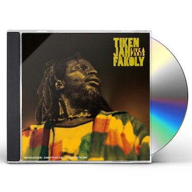 Tiken Jah Fakoly LIVE A PARIS CD