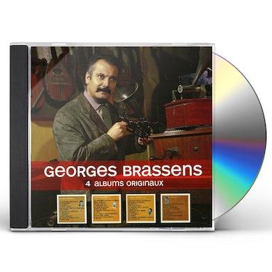 Georges Brassens 4 ORIGINAL ALBUMS CD