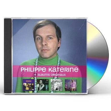 Philippe Katerine 4 ALBUMS ORIGINAUX CD