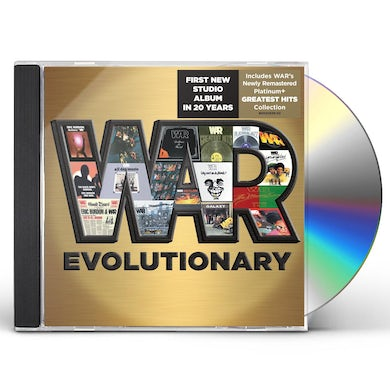 War EVOLUTIONARY CD