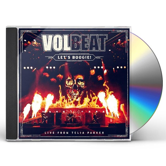 Volbeat LET'S BOOGIE (LIVE FROM TELIA PARKEN) CD