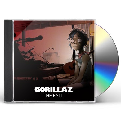 Gorillaz FALL CD