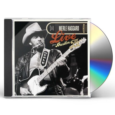 Merle Haggard LIVE FROM AUSTIN TEXAS CD