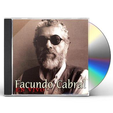 Facundo Cabral EN VIVO CD