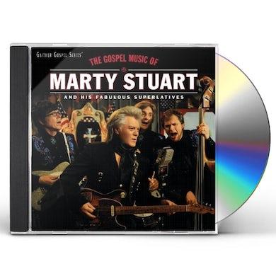 GOSPEL MUSIC OF MARTY STUART CD