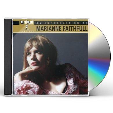 Marianne Faithfull INTRO TO CD