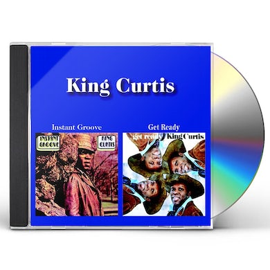 King Curtis INSTANT GROOVE / GET READY (2-FER) CD