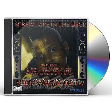 DJ Screw SCREW TAPE IN THE DECK CD