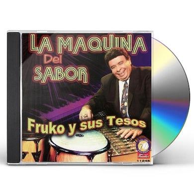 Fruko y Sus Tesos MAQUINA DEL SABOR CD
