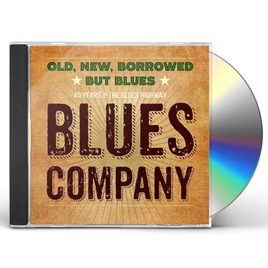 Blues Company OLD NEW BORROWED BUT BLUES CD