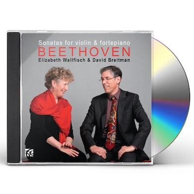 Ludwig Van Beethoven SONATAS FOR VIOLIN & PIANO CD