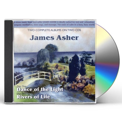 James Asher DANCE OF THE LIGHT / RIVERS OF LIFE CD