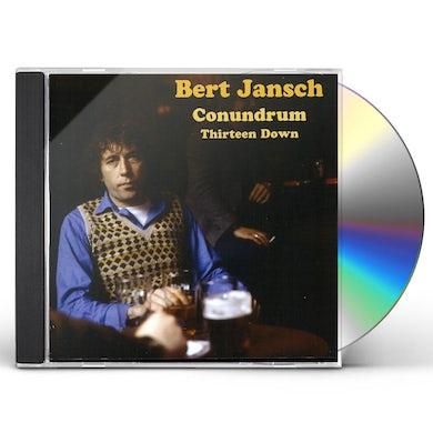 Bert Jansch CONUNDRUM THIRTEEN DOWN CD