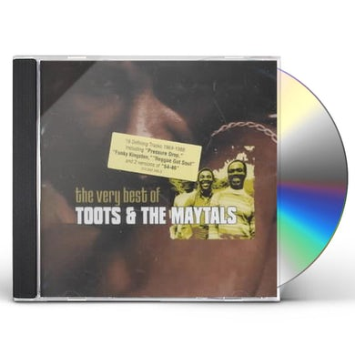 Toots & Maytals VERY BEST OF CD