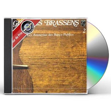 Georges Brassens LES AMOUREUX DES BANCS PUBLICS (VOL2) CD