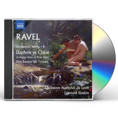 RAVEL DAPHNIS ET CHLO UNE BARQUE SUR LOC CD