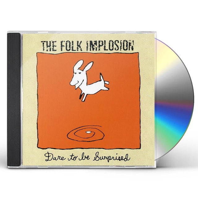 Folk Implosion DARE TO BE SURPRISED CD