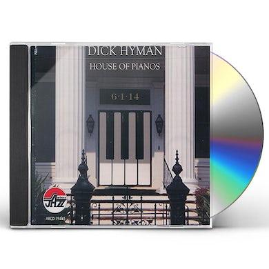 Dick Hyman HOUSE OF PIANOS CD