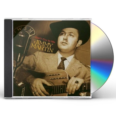 Jimmy Martin DON'T CRY TO ME CD