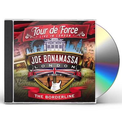 Joe Bonamassa TOUR DE FORCE: LIVE IN LONDON - THE BORDERLINE CD