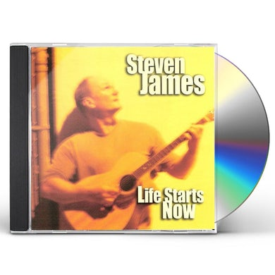 Steven James LIFE STARTS NOW CD
