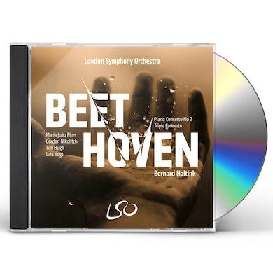 Beethoven: Piano Concerto No. 2/Triple Concerto CD
