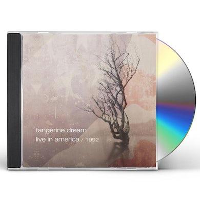 Tangerine Dream LIVE IN AMERICA 1992 CD