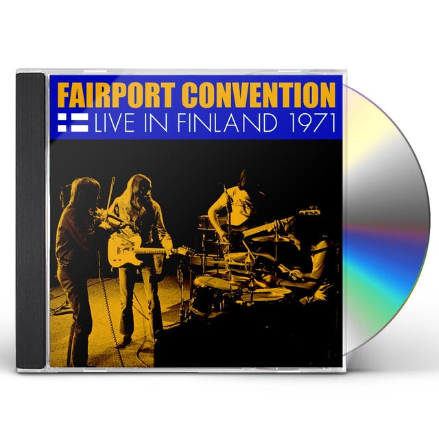 Fairport Convention LIVE IN FINLAND 1971 CD