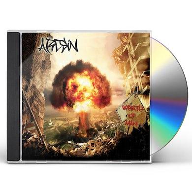 ArcSin WRATH OF MAN CD