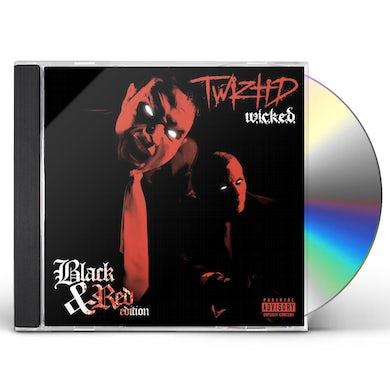 Twiztid W.I.C.K.E.D. (10th Anniversary Black and Red Edition) CD