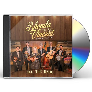 Rhonda Vincent ALL THE RAGE - VOLUME ONE CD