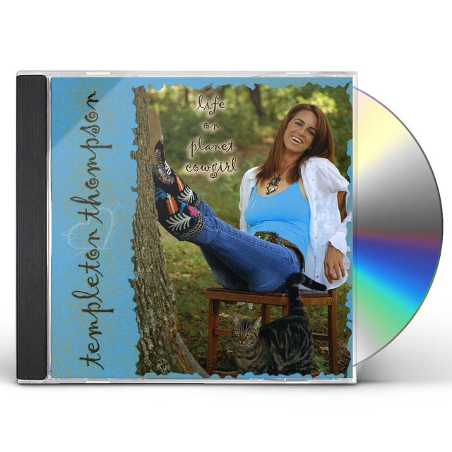 Templeton Thompson LIFE ON PLANET COWGIRL CD