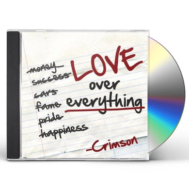 Crimson LOVE OVER EVERYTHING CD