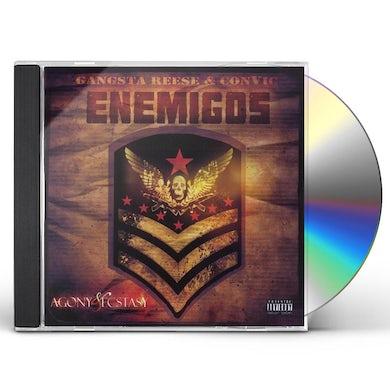 ENEMIGOS AGONY & ECSTACY CD