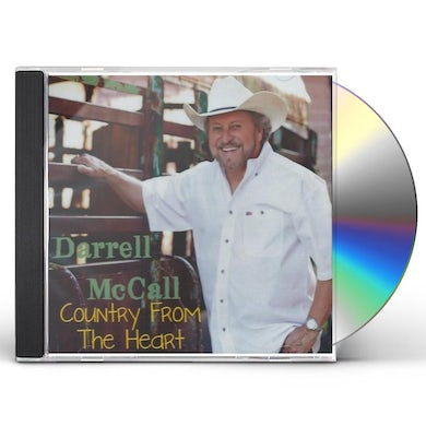 Darrell McCall COUNTRY FROM THE HEART CD