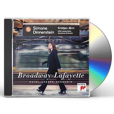 Simone Dinnerstein BROADWAY - LAFAYETTE (RAVEL LASSER GERSHWIN) CD