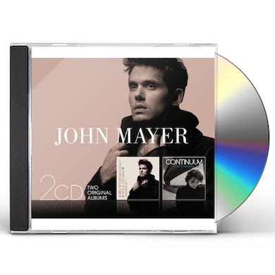 John Mayer CONTINUUM/BATTLE STUDIES CD