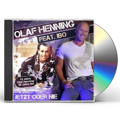 Olaf Henning JETZT ODER NIE CD