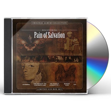 PAIN OF SALVATION ORIGINAL ALBUM COLLECTION: DISCOVERING PAIN OF CD