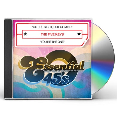 Five Keys OUT OF SIGHT OUT OF MIND CD