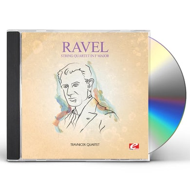 Ravel STRING QUARTET IN F MAJOR CD