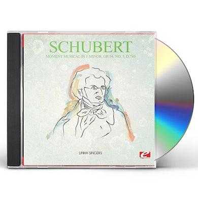 Schubert MOMENT MUSICAL IN F MINOR OP. 94 NO. 5 D.780 CD