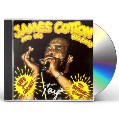 James Cotton LIVE FROM CHICAGO - MR SUPERHARP HIMSELF CD