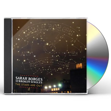 Sarah Borges & Broken Singles STARS ARE OUT CD