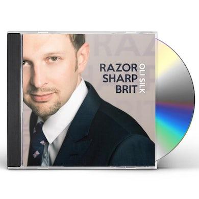 Oli Silk RAZOR SHARP BRIT CD